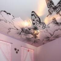Бабочки-на-потолке